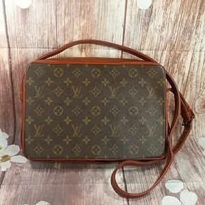 Auth Vintage Louis Vuitton Monogram zz0